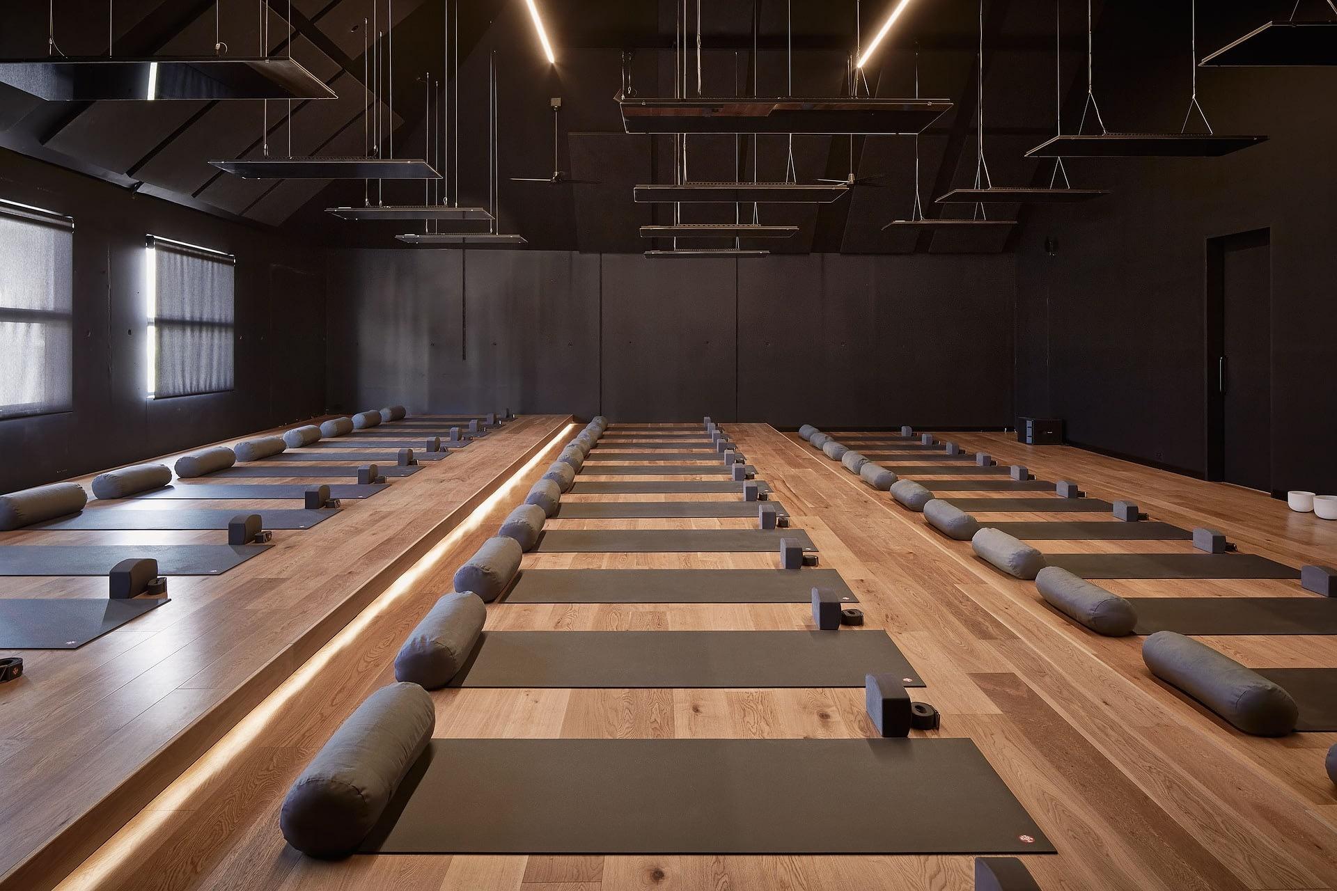 picture of a yoga studio