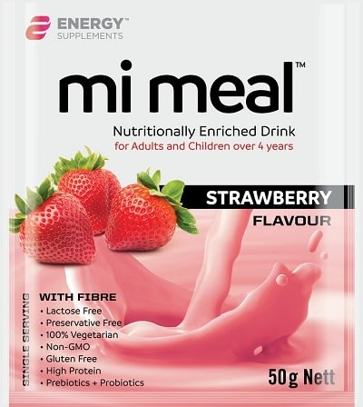 Mi Meal strawberry flavour